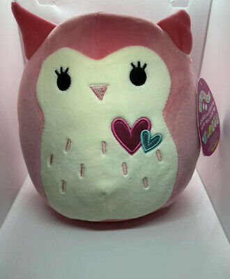 "$ CDN17.73 • Buy Squishmallows FRANCESCA The Owl 7"" Plush KellyToy Valentine 2020 RARE"