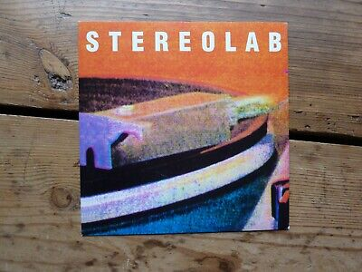 Stereolab - Lo Boob Oscilator 7  Single On Sub Pop (limited Edition Clear Vinyl) • 20£