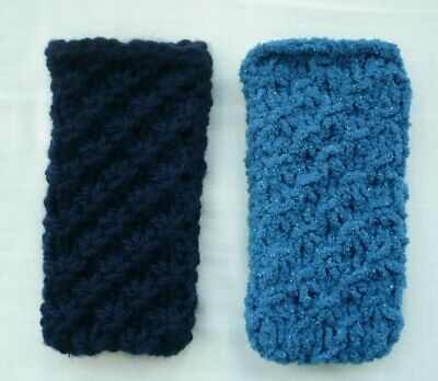 Hand Knitted Mobile Phone Case/Cover/Pouch/Sock Only 99p  • 0.99£
