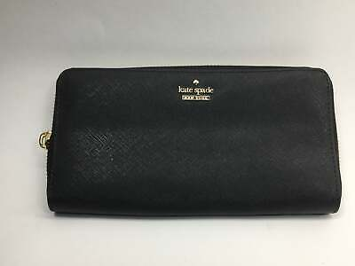 $ CDN108.03 • Buy Kate Spade Cameron Street Lacey Wallet, Black - PWRU5073-001 **AS-IS/BROKEN ZIPP