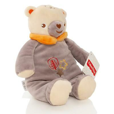 Fisher Price Baby 28cm Teddy Bear Soft Toy Plush With Rattle Cuddle Gift • 2.99£