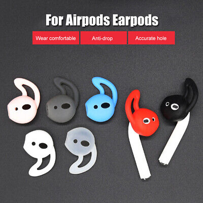 $ CDN4.06 • Buy AM_ For AirPods-1/2 Earpods 1 Pair Silicone Anti-drop Ear Hook Protector Cover C