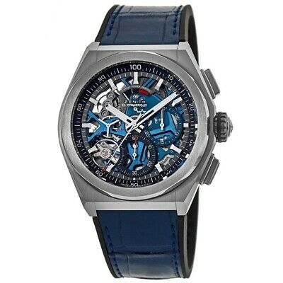 $8474 • Buy New Zenith Defy El Primero 21 Blue Men's Watch 95.9002.9004/78.R584