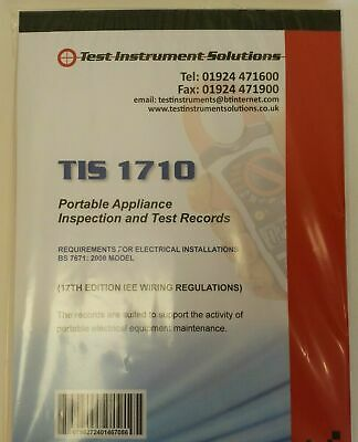 18th Edition Electrical Cert, Pat Test, Fire Alarm Log & Cert & Many Other Books • 23.89£