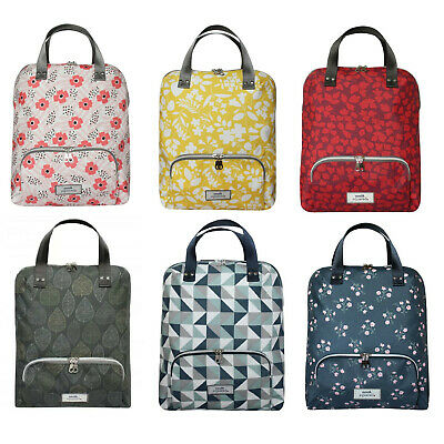 Earth Squared Oil Cloth Backpack Rucksack In A Choice Of Prints  • 39.99£