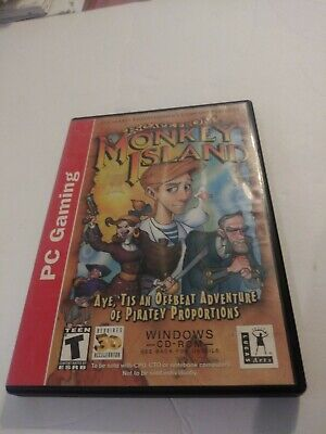 £7.08 • Buy Escape From Monkey Island PC CD-Rom Windows LucasArts - VGC