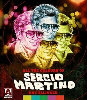 Kat Ellinger : All The Colors Of Sergio Martino ***NEW*** FREE Shipping, Save £s • 22.10£