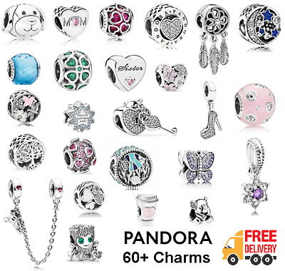 Genuine Pandora Charms Sterling Silver ALE S925 Free Pouch Bag + Free P&P NEW • 15.99£