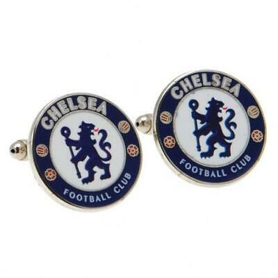 £14.49 • Buy Chelsea FC Cufflinks Football Crest Badge Gift Box Official Licensed Product