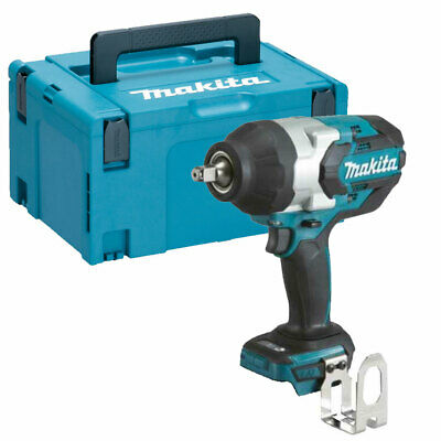 Makita DTW1002Z 18V LXT Brushless Cordless Impact Wrench 1/2 Drive + MakPac Case • 277£