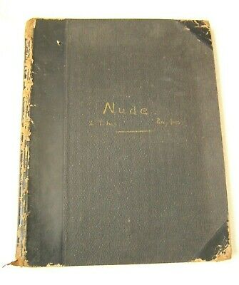 Lt & Percy Ives Nude Sketch Book Male Female 1864-1928  • 1,170.32£