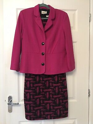 Ladies Dress And Jacket From Precis Size 14 Worn Once For A Wedding) • 45£