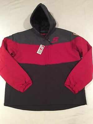 $ CDN112.84 • Buy NWT Snap On Tools Lined Coat Insulated Jacket Hooded 2020 Red Black Size XL