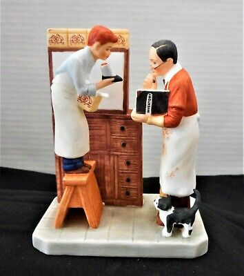 $ CDN26.60 • Buy Norman Rockwell  Year End Count  Gorham Figurine Numbered Limited Edition