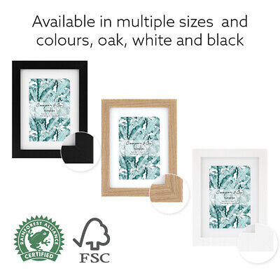 AU69.95 • Buy Cooper & Co Premium Wooden Photo Frame Set Picture Large Wall Gallery Lot