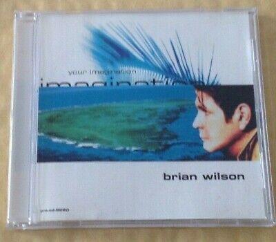 Brian Wilson - Your Imagination U.s. Promo Cd & Picture Sleeve. • 3.99£