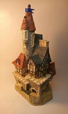 £65.80 • Buy David Winter Cottages~Castle In The Air~In Box~2 Of 3 Flags Broken & Included