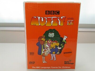 £11.09 • Buy BBC MUZZY SPANISH LANGUAGE COURSE II- VHS VIDEO/DVD/CD DISCO Kids Learn To Speak