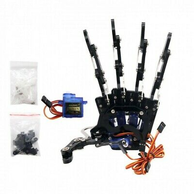 Robot Mechanical Claw Clamper Gripper Arm Left Hand Five Fingers With Servos HOT • 63.99£