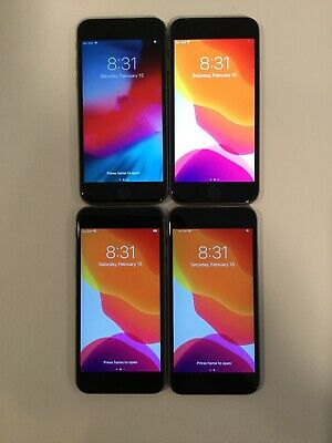 $ CDN338.04 • Buy LOT OF FOUR TESTED CDMA + GSM UNLOCKED AT&T APPLE IPhone 6S 32GB PHONES A160J