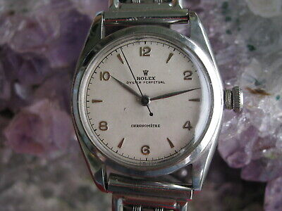 $ CDN2118.23 • Buy Rolex Oyster Perpetual Bubble Back Vintage Stainless Steel Automatic Wrist Watch