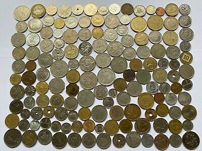 Job Lot Old British Europe World Coins Mixed Unsorted Foreign Lot H2 • 0.99£