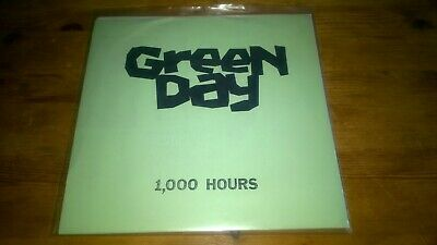 Green Day – 1,000 Hours. RARE 1st 1989 PRESS 7''. White Insert. Lookout Records • 80£