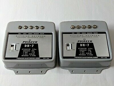 $77.95 • Buy Pioneer High Pass Filter Dn-7 Dividing Network Crossover Fit Hpm-100 60 500 900