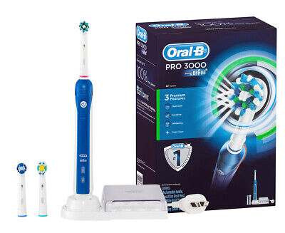 AU109.95 • Buy Oral-B Pro 3000 Rechargeable Electric Toothbrush Kit