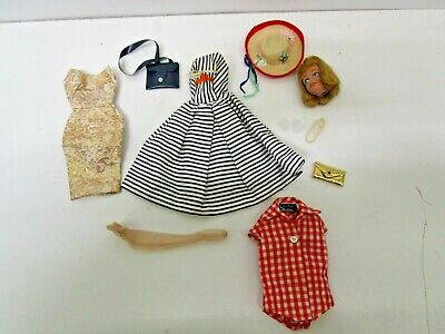 $ CDN13.22 • Buy Vintage Lot Of Mattel Barbie Clothes And Accessories + Midge Head