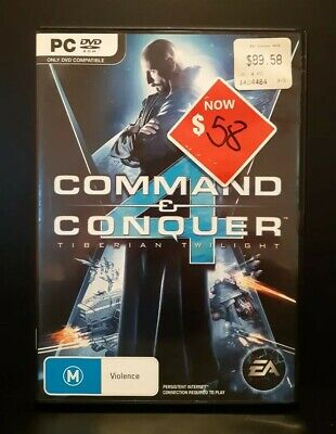 AU11.20 • Buy Command & And Conquer 4: Tiberian Twilight PC DVD-ROM Game