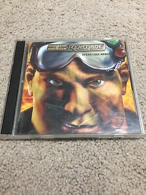 AU14.95 • Buy Command And Conquer Renedage PC Game Westwood Studios Manual Vintage 2002