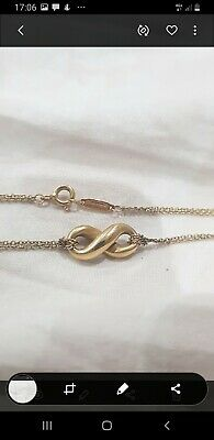 £500 • Buy Tiffany 18Ct Yellow Gold Eternity Necklace