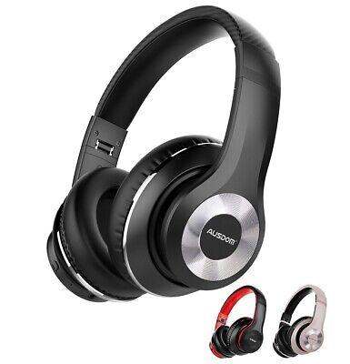 AU89 • Buy AUSDOM ANC10 Wireless Active Noise Cancelling Headphones, Bluetooth 5.0 Over-Ear