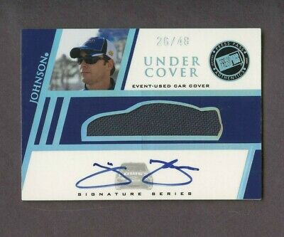 $10.50 • Buy 2008 Press Pass Under Cover Nascar Jimmie Johnson Car Cover Patch AUTO /48