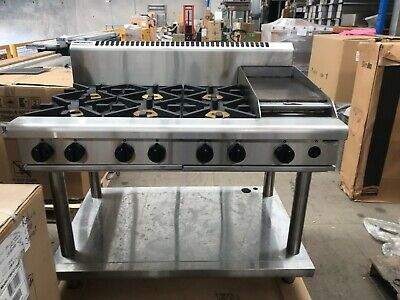 AU4500 • Buy Waldorf RN8803G-LS 6 Burner Gas Cook Top + Griddle With Stand (Natural Gas)