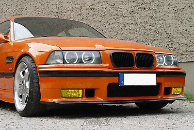 $98.13 • Buy Fog Light Yellow Clear Glass BMW 3er E36 Cabriolet Set Yellow Fogger Also M3