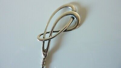Art Nouveau Sterling Silver Hat Pin  • 18£