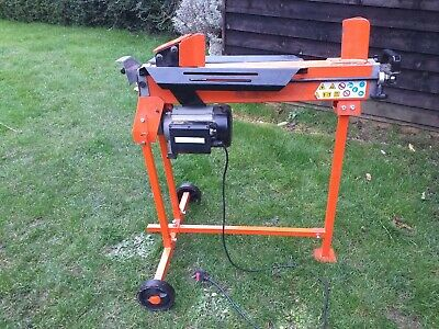 6 Ton Electric Log Splitter On Stand. • 155£