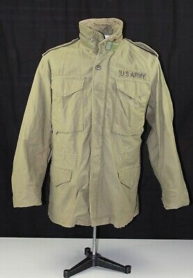 $95 • Buy Vietnam US ARMY M65 Field Jacket Size Small Regular Made By SO SEW STYLES INC
