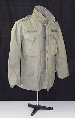 $95 • Buy Vietnam US ARMY M65 Field Jacket Size Small Short Made By SO SEW STYLES INC