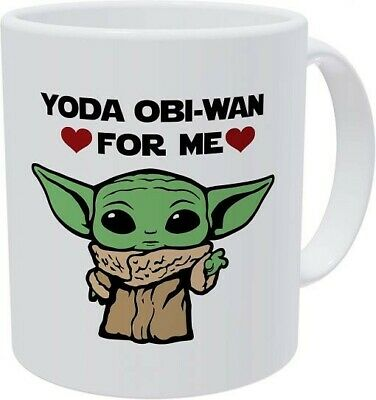 $14.99 • Buy Baby Yoda  Yoda The Obi-Wan For Me  Mug. Condition Is New.