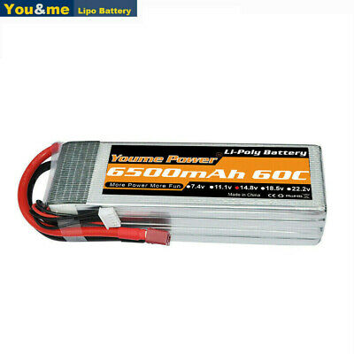 AU73.69 • Buy Youme 4S 6500mAh 14.8V 60C LiPO Battery Deans For RC Helicopter Car Truck