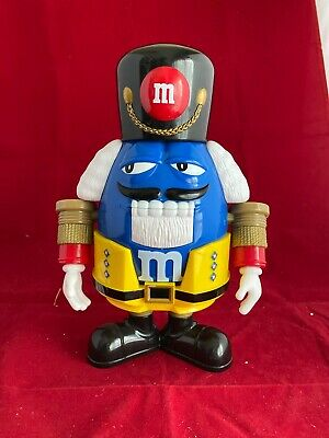 $15 • Buy M&M's Limited Edition Holiday Chocolate Candy Dispenser Nutcracker Sweet Blue MM