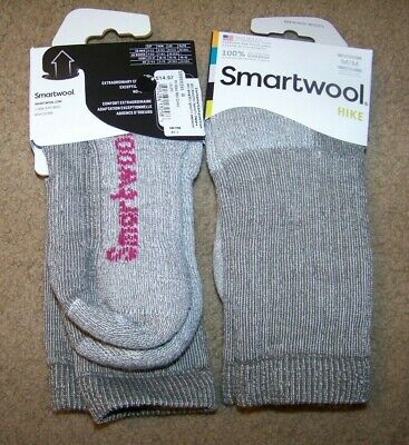 $9.99 • Buy NWT Smartwool Hike Socks Women's M ~ Merino Wool ~ Crew ~ Taupe ~ Medium Cushion