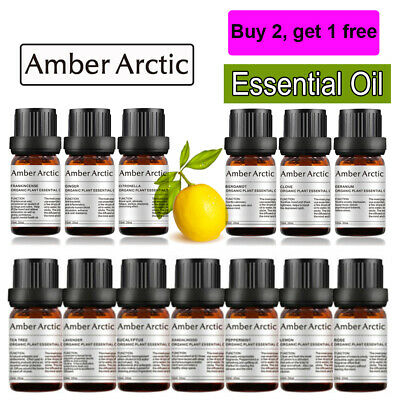 AU11.69 • Buy AMBER ARCTIC Organic 100% Pure Essential Oil For Aromatherapy Diffuser Oils AU