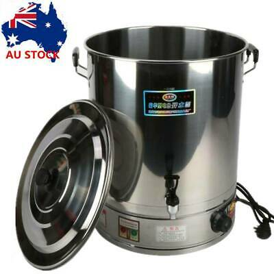AU108.99 • Buy 48L Electric Hot Water Urn Stainless Steel Concealed Element Boiler Tea Kettle