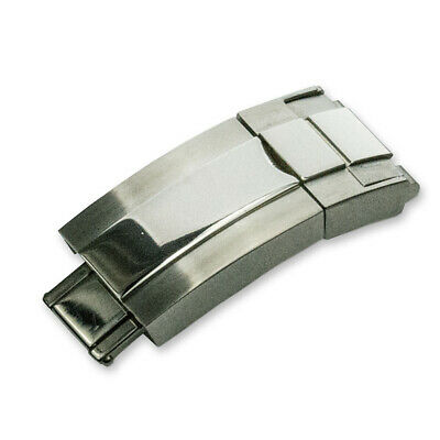Stainless Steel Deployment Clasp Watch Strap For Rolex Watches 16mm X 9mm • 17.95£