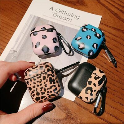 £6.54 • Buy Luxury Leopard Pattern Case For Apple Airpods 2/1 Cover Retro Headphone Case Box