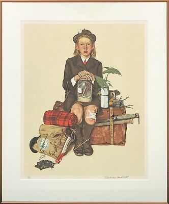 $ CDN2220.23 • Buy Norman Rockwell  Home From Camp  1976 | Hand Signed Print | Others Avail Gallart